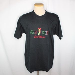 Vtg Disney Mickey Mouse Embroidered T Shirt